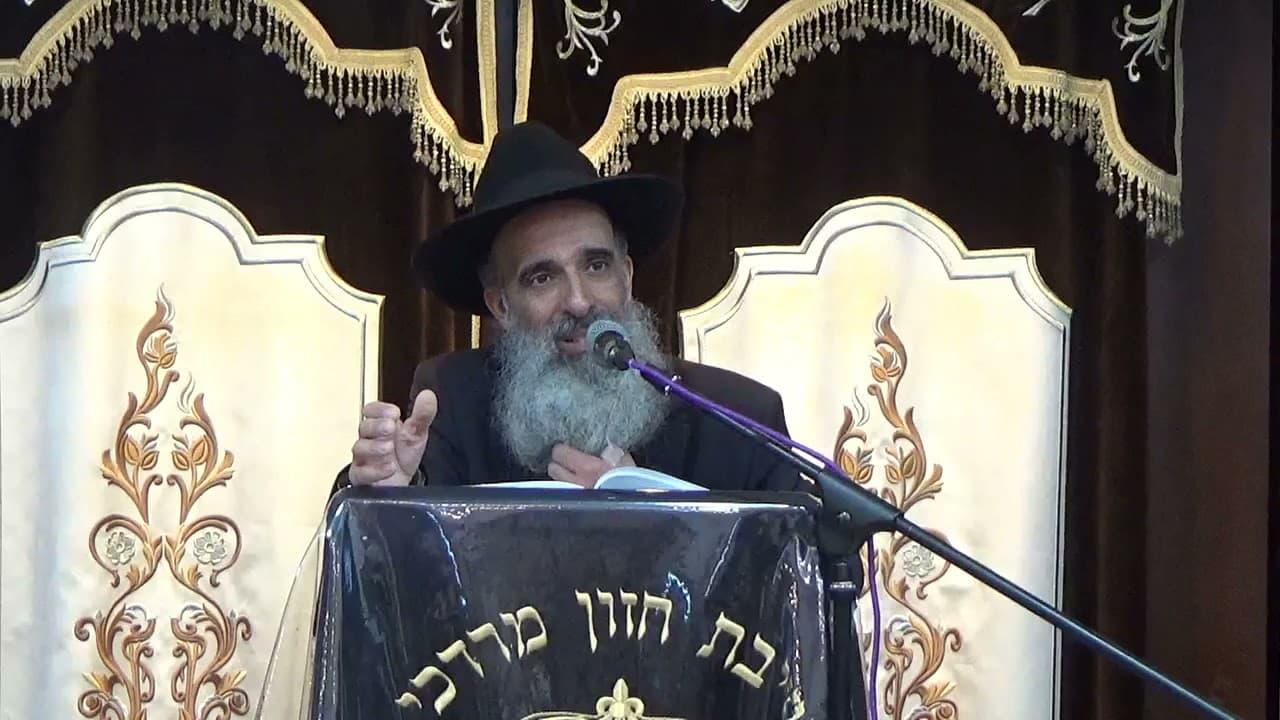 """הרב מאיר דוד שמואלי - מעלת הסוכה והשמחה י""""ג תשרי תשפב"""