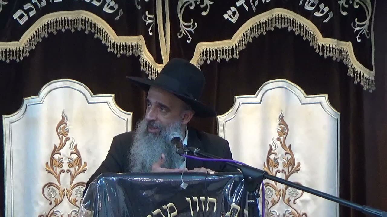 הרב מאיר דוד שמואלי - ויתור ושלום בית